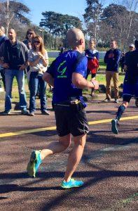 Sponsoring marathon de Paris GB Consulting