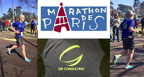 sponsoring marathon paris gb consulting